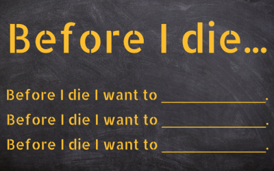 THINGS TO DO BEFORE YOU DIE