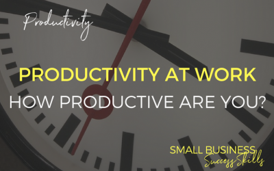 How Productive Are You At Work?
