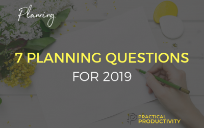 7 Key Planning Questions for 2019