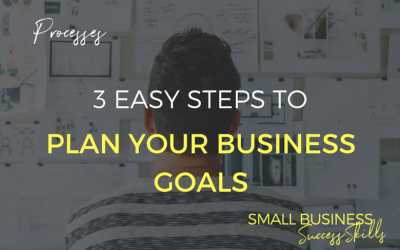 3 Easy Steps To Plan Your Business Goals